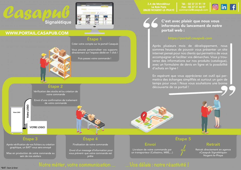 Lancement du portail web Casapub !
