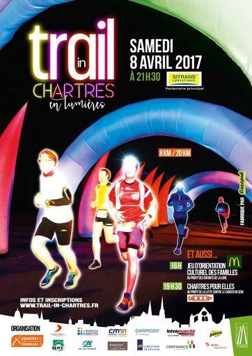Le flyercrée par Chartres Métropole Triathlonpour l'occasion
